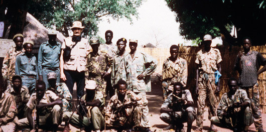Sudan in 1998 during the war between the Islamic government and southern rebels.
